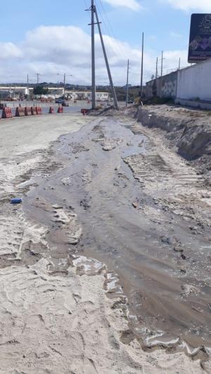 Se restablece el bombeo de agua potable a la parroquia Manta
