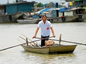Navegó 33 años en un bote
