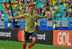 Colombia gana 1-0 a Paraguay
