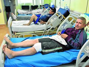 Hospital Verdi Cevallos sin material para traumatología