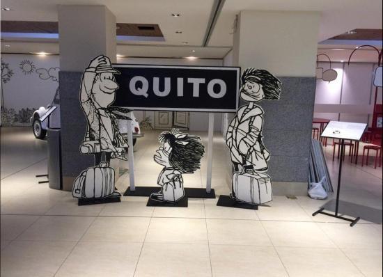 Mafalda, la eterna niña cuestionadora extiende a Quito sus reflexiones