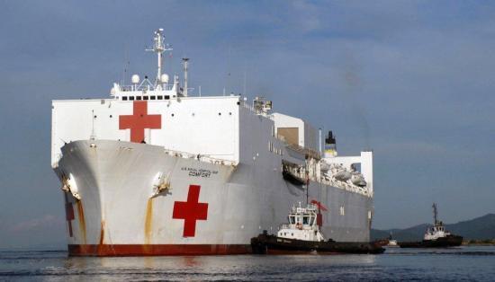 Buque de EE.UU. inicia en Manta gira de atención médica por Latinoamérica