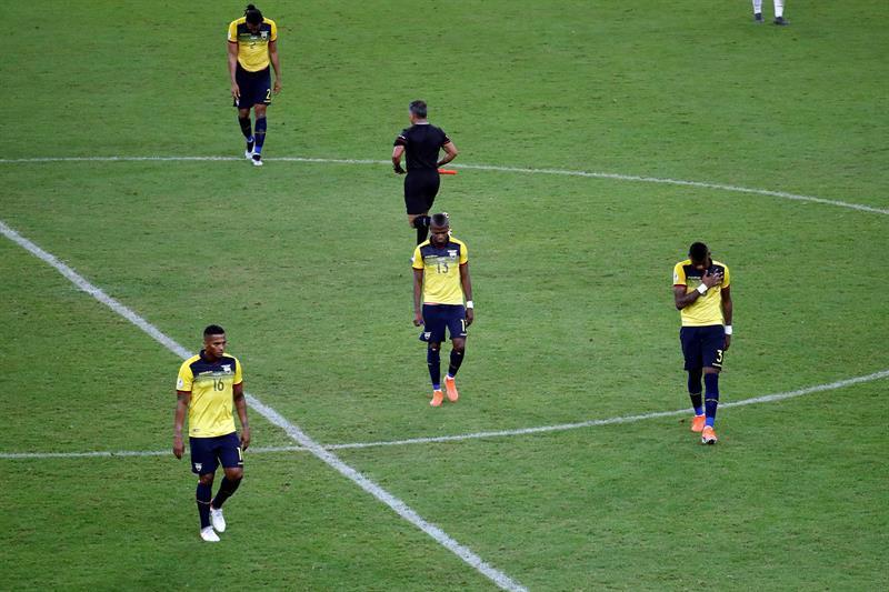 Ecuador infla historia de fracasos en Copa América con eliminación en Brasil