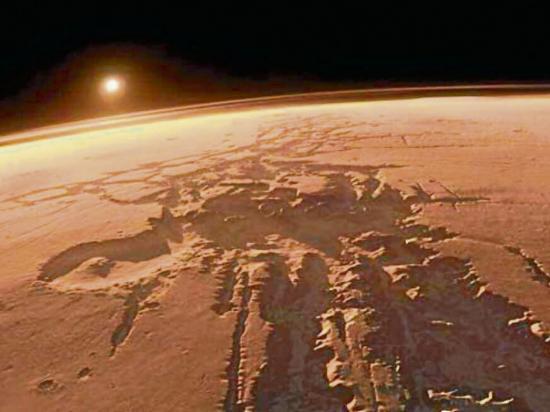 Nubes de Marte se forman de meteoros