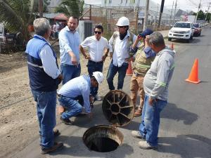 El miércoles 26 de junio probarán nuevo acueducto en Manta
