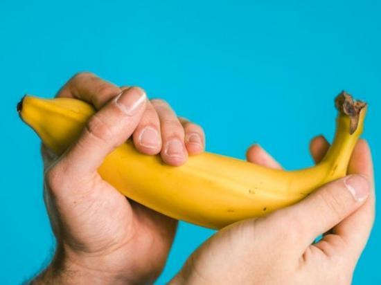 Asaltó con un plátano