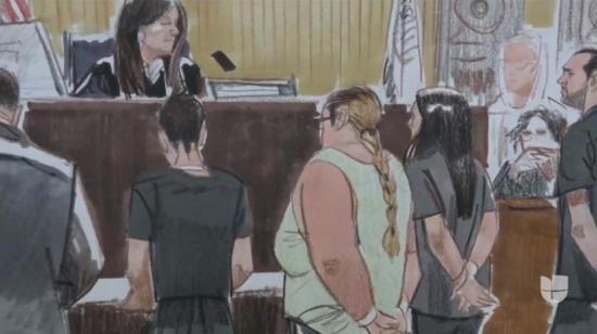 Acusadas en EEUU de matar embarazada para robarle bebé se declaran inocentes