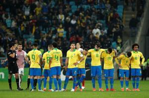 Brasil, semifinalista tras imponerse en la tanda de penaltis a Paraguay (4-3)