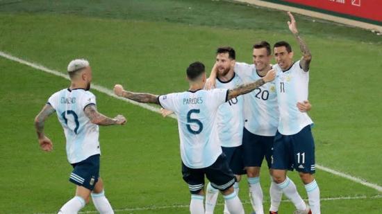 Lautaro y Lo Celso envían a Argentina a la semifinal contra Brasil