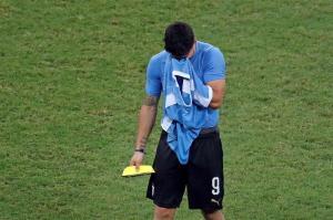 Las lágrimas de Luis Suárez