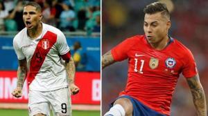 Vargas y Guerrero, duelo de artilleros históricos en la Copa América