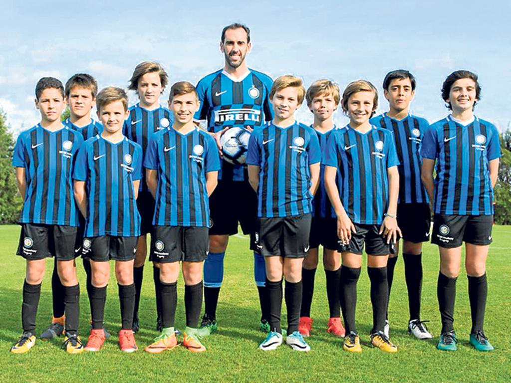 Godín llega al Inter