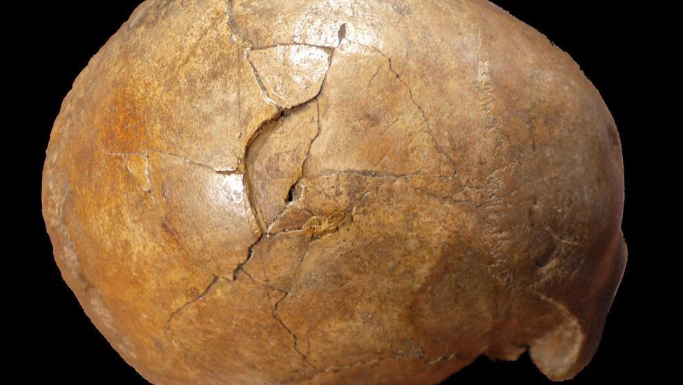 Científicos confirman la muerte violenta de un hombre de hace 33.000 años