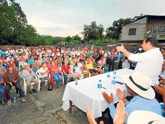 Prefecto Orlando se reunió con dirigentes rurales de Paján