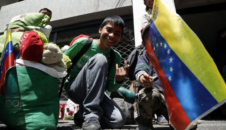 Cerca de 200 venezolanos regresarán a su país esta semana desde Ecuador