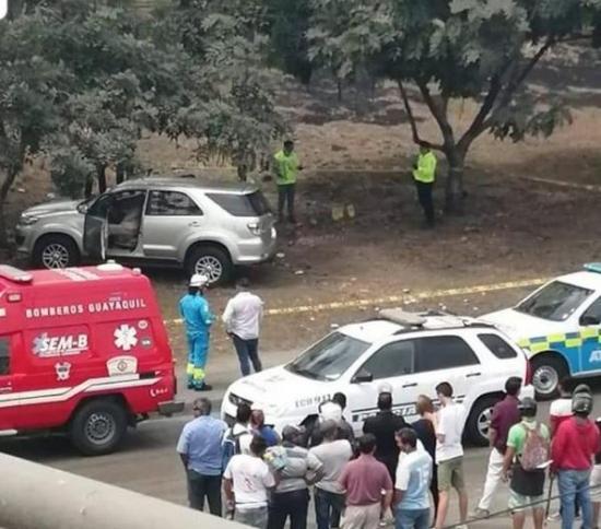 Asesinan de varios disparos a fiscal de Daule