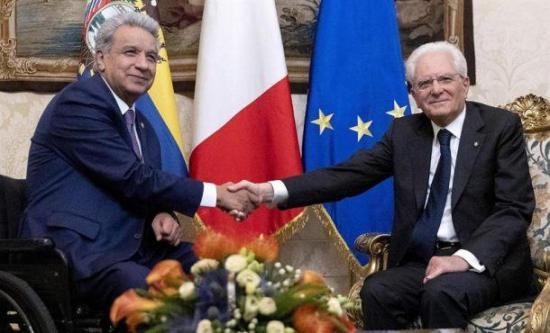 Presidentes de Italia y Ecuador respaldan a Juan Guaidó en crisis de Venezuela