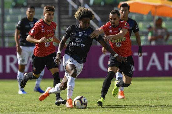 Independiente del Valle y Caracas empataron sin goles