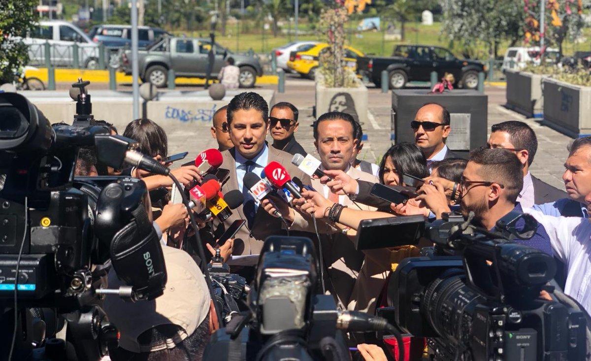 Fernando Balda denuncia a José Serrano por secuestro en 2012