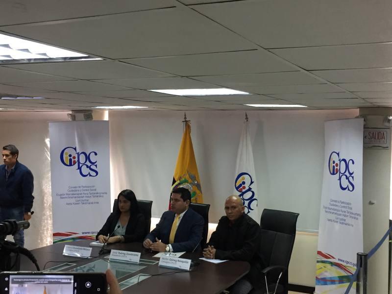 Fiscalía abre indagación previa en contra presidente y consejeros del Cpccs