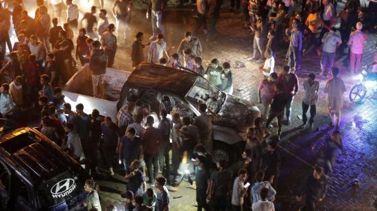 Al menos 13 muertos por la explosión de un coche bomba en el norte de Siria