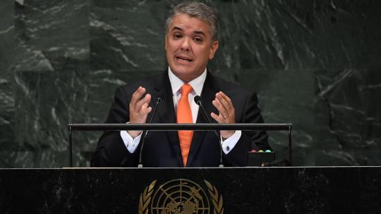 La FARC denuncia ante la ONU que Duque no cumple con su discurso sobre la paz