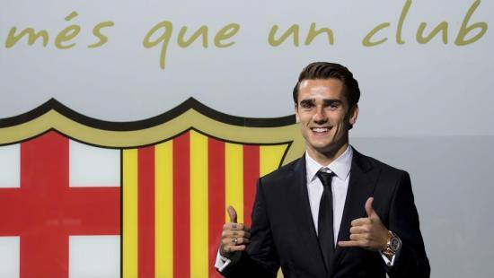 Griezmann es el nuevo jugador del Barcelona