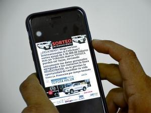Denuncian estafa por whatsapp en Manabí