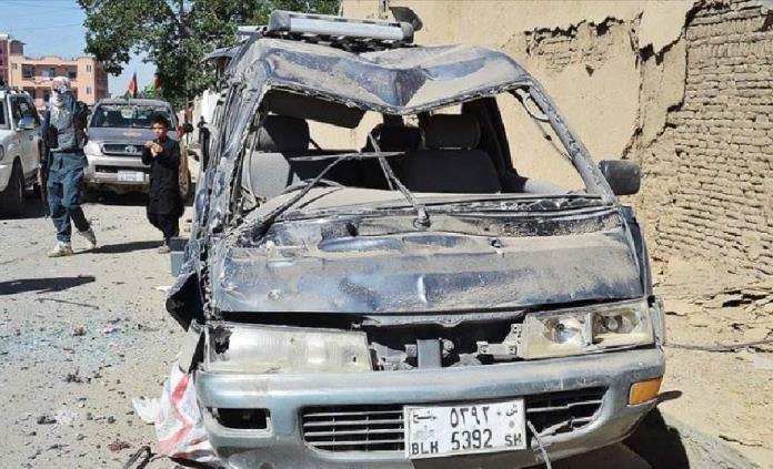 13 muertos al explotar una mina al paso de comitiva de una boda en Afganistán