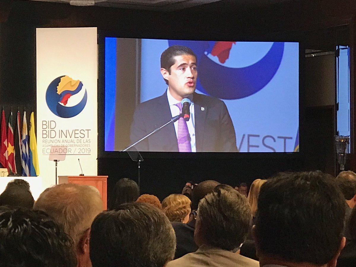 Ecuador avanza hacia modelo económico responsable, dice ministro ecuatoriano