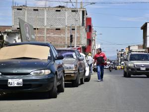 Portoviejo: Un carril de la calle Pedro Gual será de parqueo