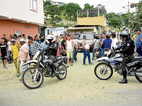 2 familias se dan balas en Portoviejo