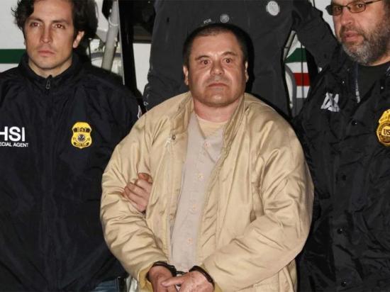 """Sin misericordia...  """"El Chapo"""" condenado  a cadena perpetua"""