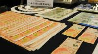 Desarticulan en Argentina banda de billetes falsos en operación ''Casa de Papel''