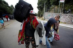 El 14 % de los migrantes venezolanos recurrió a la mendicidad, según la ONU