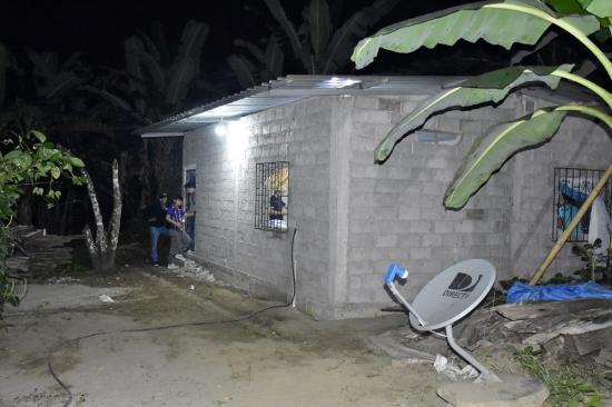 Policía rescata ''sana y salva'' a joven que fue tomada como rehén en la parroquia Alajuela de Portoviejo