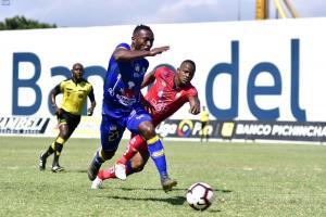 Delfín y El Nacional empatan 1-1 en el estadio Jocay