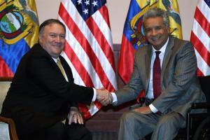 Venezuela, seguridad y lucha contra corrupción centran diálogo Ecuador-EEUU