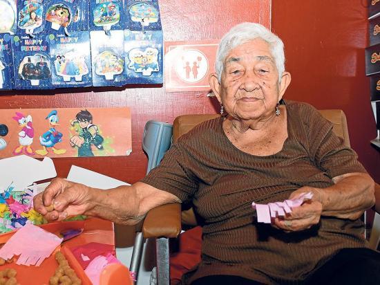 94 años y trabaja sin pensar en jubilarse