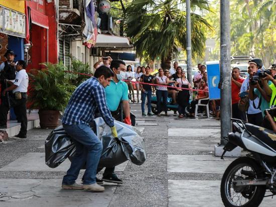 5 muertos en ataque armado en Acapulco