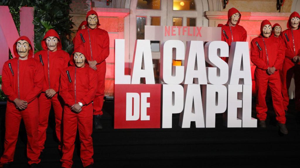 Cuarta temporada de La Casa de Papel se escribe en las islas Galápagos