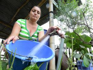 El 80 % del agua no se cobra en Portoviejo