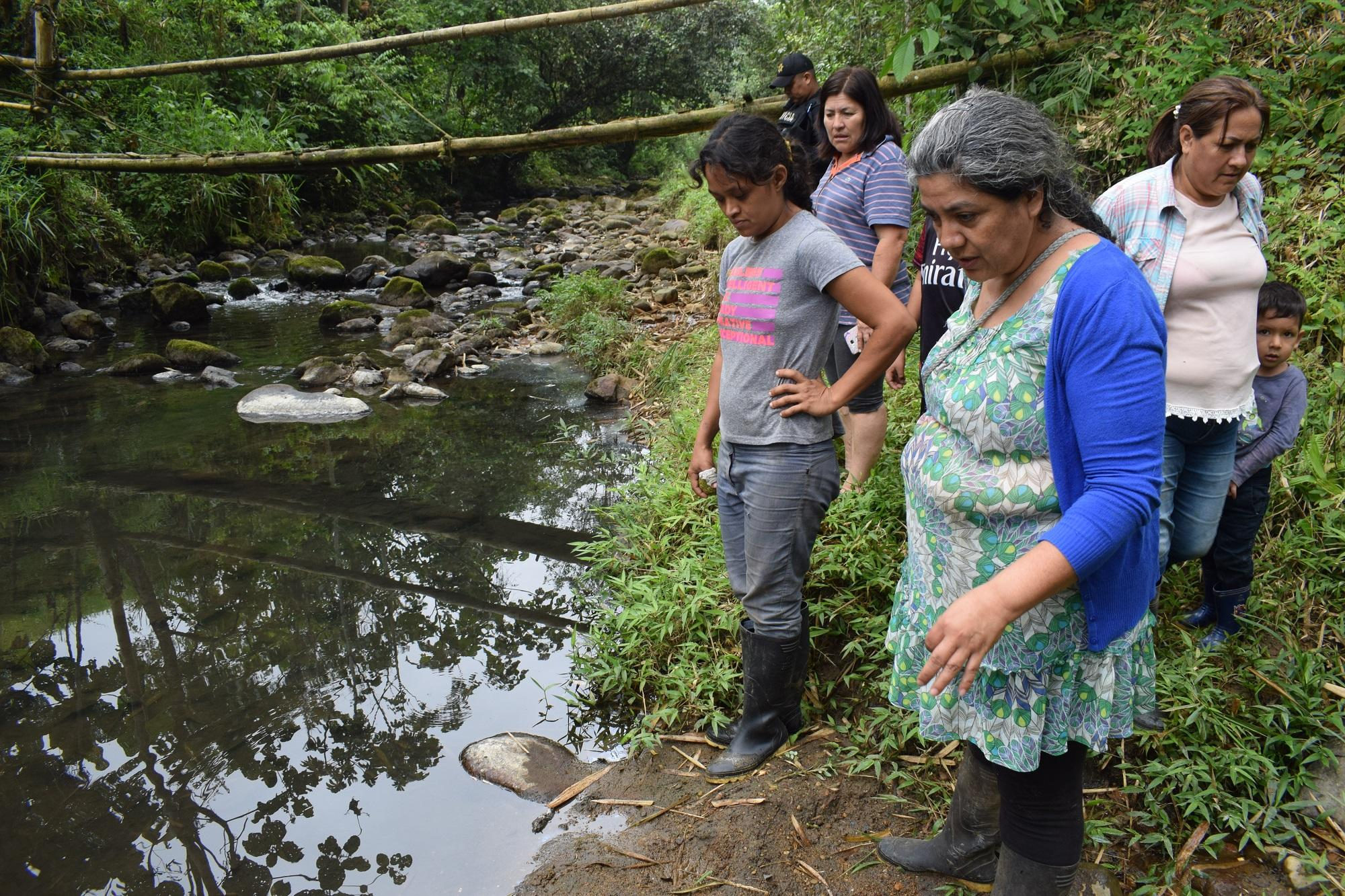 El río Mozo está contaminado