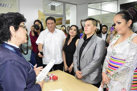 Gina y Verónica unieron sus vidas en el primer matrimonio igualitario en Santo Domingo