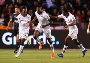 Liga de Quito vence 3-1 a Olimpia en la ida por los octavos de la Copa Libertadores