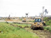 Ampliación del patio 600 genera polémica en Manta