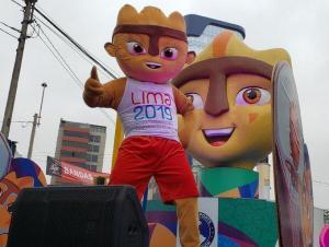 Milco, mascota de los Panamericanos inspirada en una estatuilla prehispánica