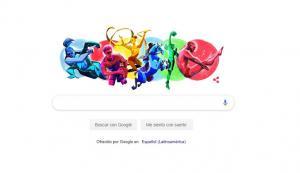 Google dedica un ''doodle'' a los Juegos Panamericanos en el día de su apertura