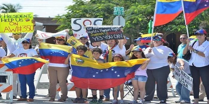 Venezolanos agradecen aprobación de medida para 'vivir sin angustias' en EEUU