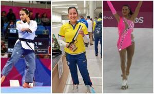 Claudia Cárdenas, Marina Pérez y Eduarda Fuentes ganan las primeras medallas para Ecuador en los Panamericanos